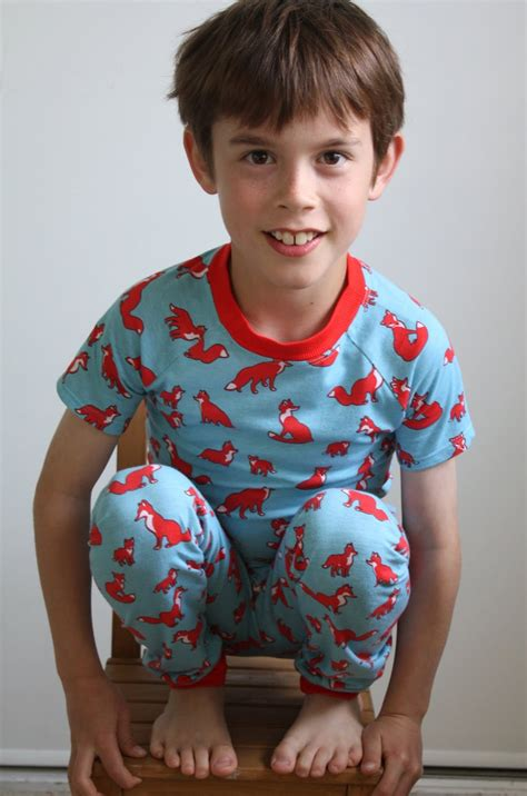 Boys Sleepers At Home Kcw Woodland Creature Pjs For Both Boys