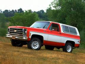 Chevrolet K5 Blazer Chevrolet Blazer K5 1978 Mad 4 Wheels