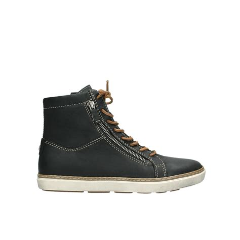 wolky boots wolky shoes 09453 ontario black leather order now
