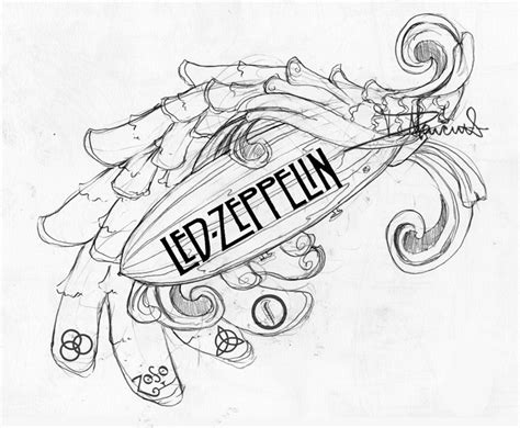 possible led zep tat maybe by dmillustration on deviantart