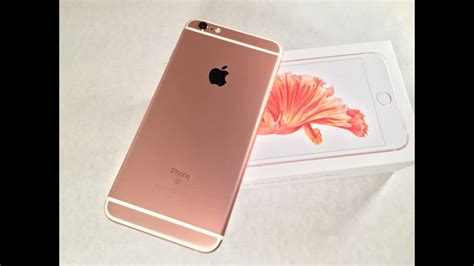 iphone   rose gold unboxing youtube