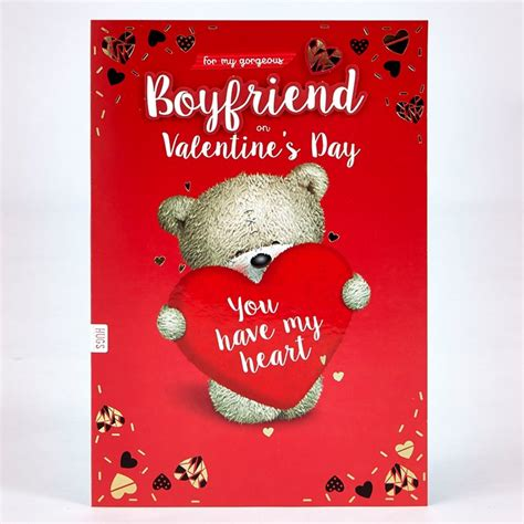valentines day card for boyfriend s day card boyfriend hugs you my