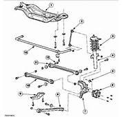 Rear Sub Frame  Suspension / Wheels Brakes Steering Mk3 Mondeo