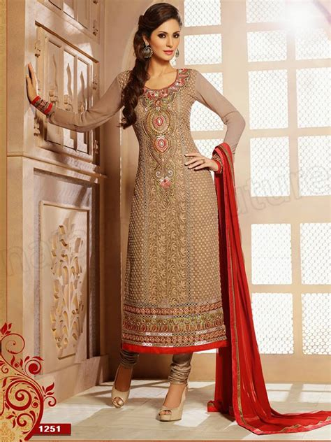 Straight Cut Sal R Kameez Suitsllection
