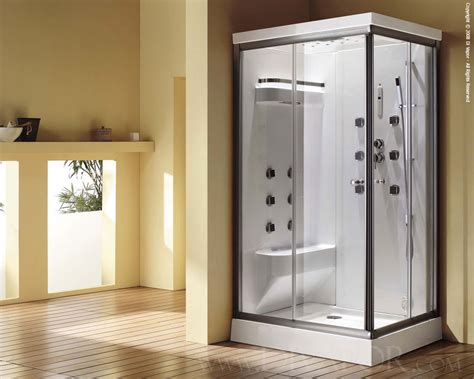 Shower Dimensions With Bench Steam Showers The Cascade Duo