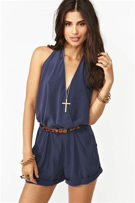 Romper Navy shadow wrap romper in navy this is so i rompers they are a really summer
