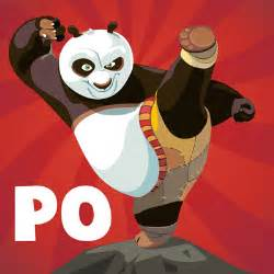 How to draw po from kung fu panda 1 and 2 with easy steps drawing