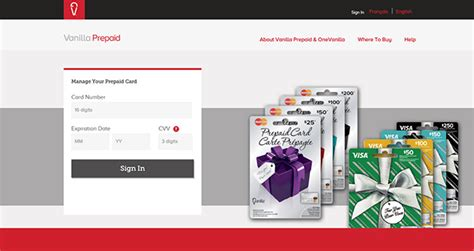 www vanillaprepaid com manage your prepaid card - Vanilla Visa Gift Card Dispute