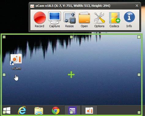 wandlen groß ocam und bilder vom desktop aufnehmen deskmodder de