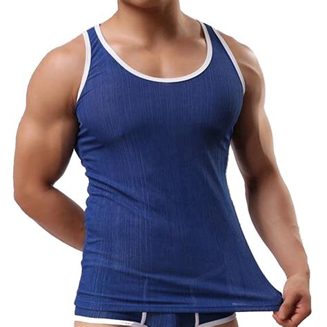 Branded Tank Top 50k 2018 brand summer mens tank tops sleeveless thread tank tops heren tanktops camiseta