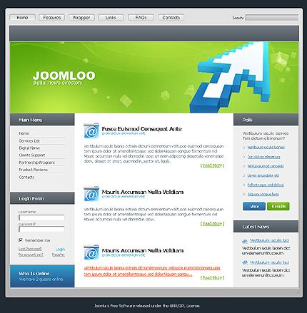 template joomla gratuit modifiable template joomla gratuit