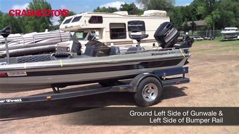ranger bass boat without motor 1989 ranger 375v lot 23410534 youtube