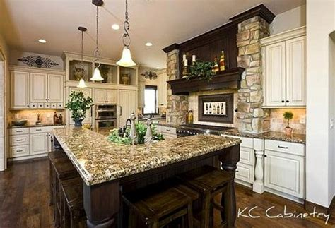 kitchen looks ideas tuscan kitchen design light distressed cabinets dark