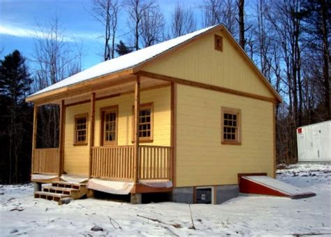 how to build a 12 x 20 cabin on a budget summerwood tiny cabins