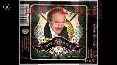 Bier Aufkleber Selbst Gestalten by Bier Etikett Selbst Gestalten Mit Cs5 6 Photoshop Youtube