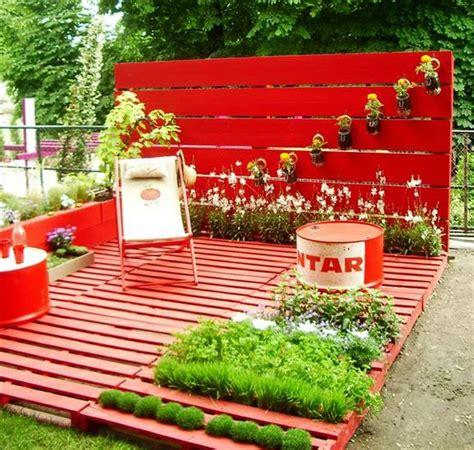 Deck Gardens by Pallet Deck And Garden