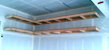 Shelf Designs For Garage custom diy wood wall mounted and hanging garage storage