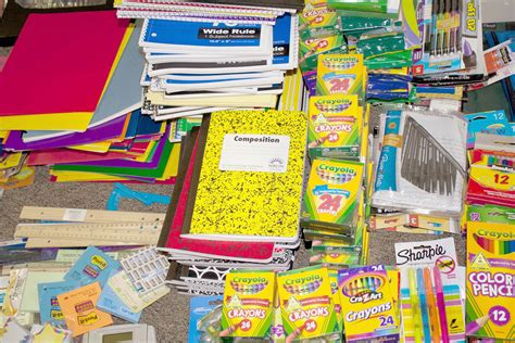 school supply drive images image mag