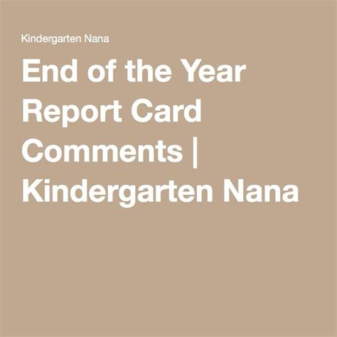report card comments sles 25 best ideas about kindergarten report cards on