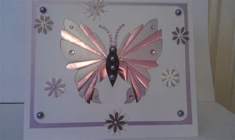 Folded Paper Butterfly Template - january in the craft room julie s craft room