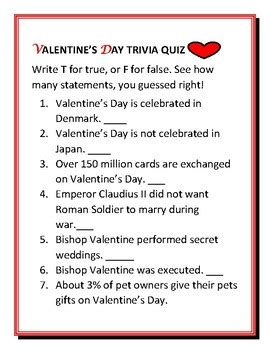 s day quiz valentines day trivia thin
