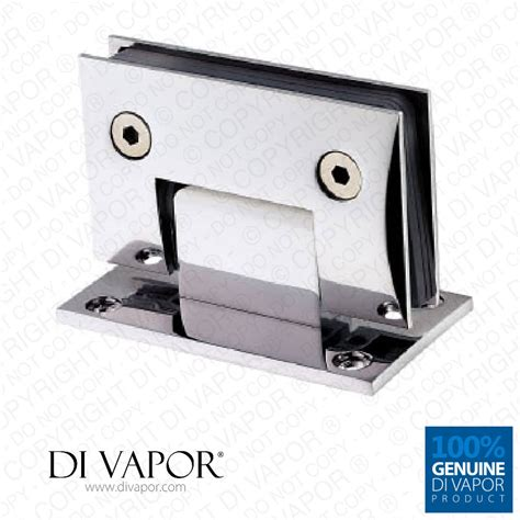 Hinges For Glass Shower Doors 90 Degree Wall Mounted Shower Door Glass Hinge Sided Chrome Plated Copper Square