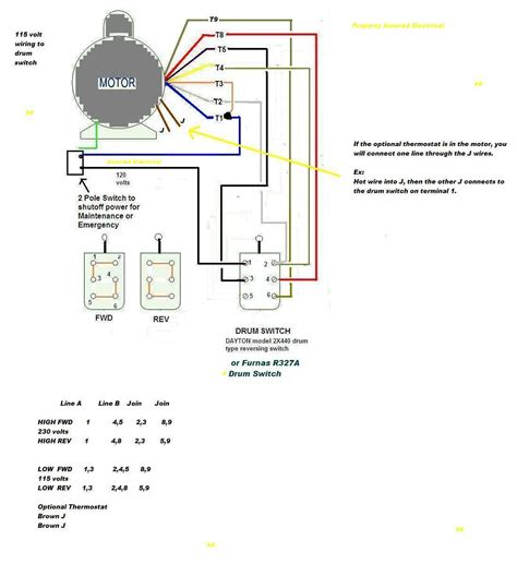 3 phase motor wiring diagrams electrical info pics at 220v