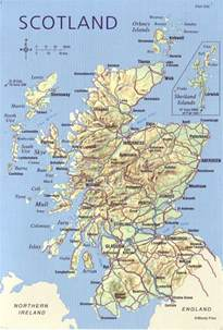 Scotland World Map by The World In Postcards Sabine S Blog Scotland Map May