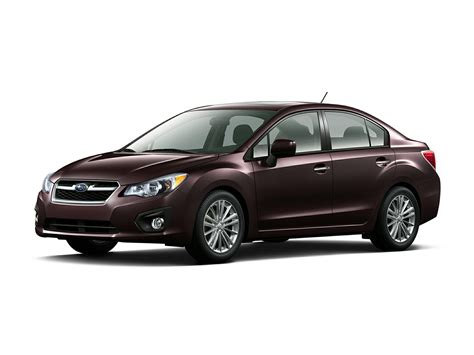 subaru sedan 2014 subaru impreza price photos reviews features