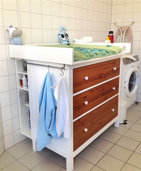 Wickeltisch Hemnes Diaper Changing Table Ikea Hackers Nappy Changing Table