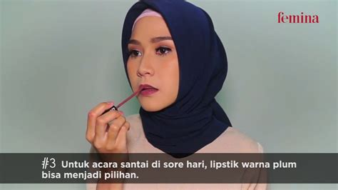 tip memakai lipstik dari zaskia adya mecca