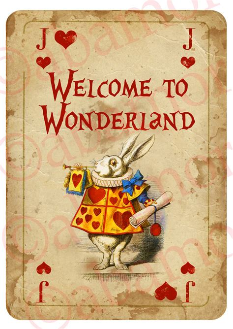 mad hatter card template 1 in a4 welcome sign card prop