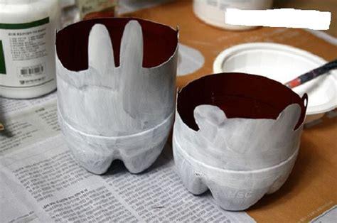 cara membuat pot bunga dari botol bekas bibitbunga com membuat pot bunga gantung dari botol plastik holidays oo
