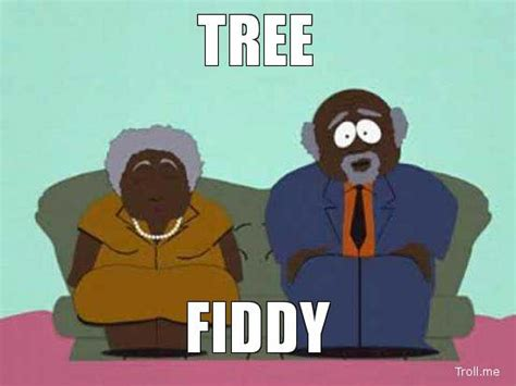 Tree Fiddy Meme - this bitch makes the hodgetwins look like albert einstein