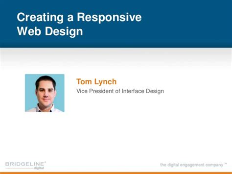 creating responsive css webinar how to create meaningful mobile experience with
