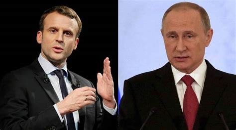 emmanuel macron russia new french president emmanuel macron promises tough talk