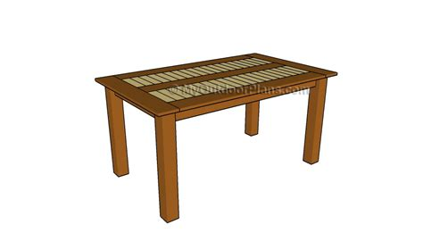 outdoor dining table plans  outdoor plans diy shed