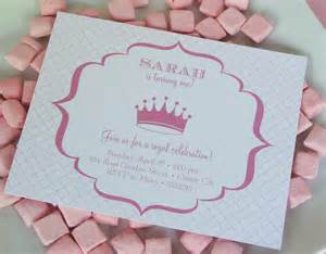 princess birthday invitations dancemomsinfo