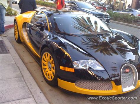 bugatti veyron spotted in los angeles california on 10 05