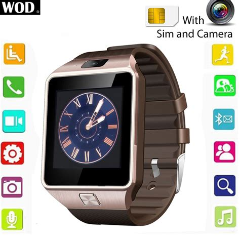 Smartwatch S6 Bluetooth Gsm For Android Ios 2016 smartwatch dz09 armbanduhr bluetooth ios android