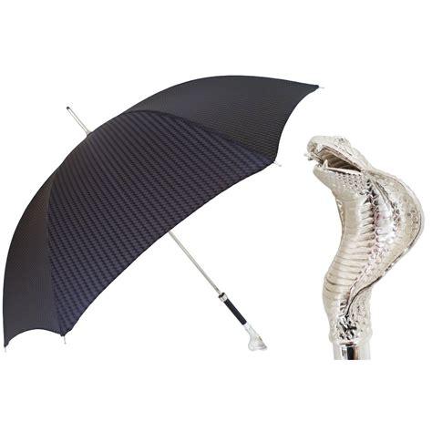 black pattern umbrella pasotti ombrelli black men s umbrella luxury cobra handle