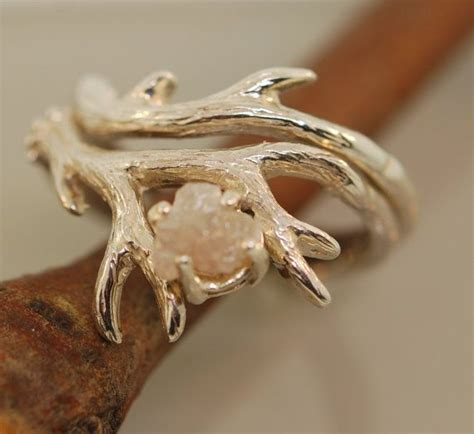 17 best ideas about antler ring on deer antler