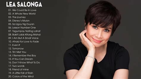Lea Salonga Nonstop Songs 2018   Best OPM Tagalog Love