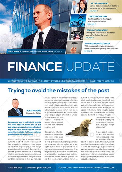 8 page business and corporate newsletter by shukerman