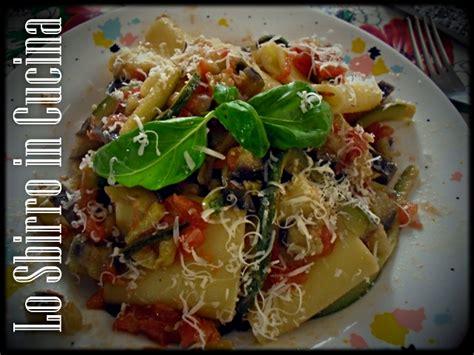cucinare pasta e zucchine pasta con zucchine e melanzane ricette dalla cucina di