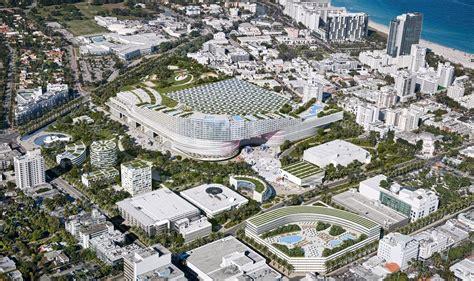 home design miami beach convention center miami beach scraps oma s winning convention center design