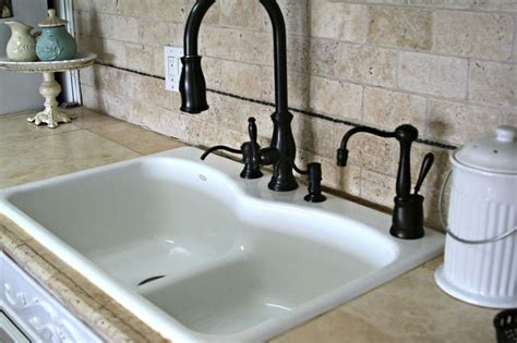 How To Beat Kitchen Sink 17 Best Images About Ideas For The House On Pinterest Oak Cabinets Kitchen Backsplash And