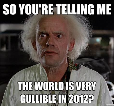 Doc Brown Meme - doc brown s revelations funny pictures quotes pics