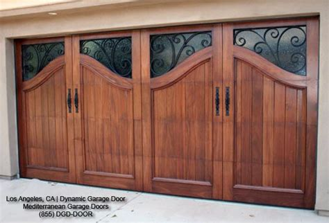 Mediterranean Style Garage Doors Custom Designed California Overhead Door