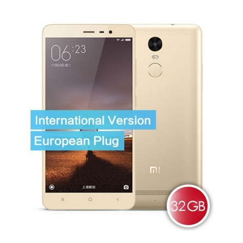 Xiaomi Redmi Note 3 Pro Ram 3gb Rom 32gb Grey New 1 Tahun buy xiaomi redmi note 3 pro international version 3gb ram 32gb rom gold